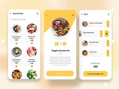 Food delivery app delivery app design delivery app food delivery app food delivery app ui design app ux app ui app minimal simplicity modern ux design design ux ui