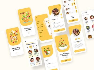 Food delivery app delivery app food delivery food delivery app app ui design app ux app ui app minimal simplicity modern ux design design ux ui