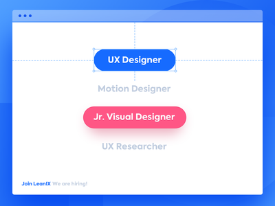 We are Hiring! bonn growth startup saas branding ux enterprise software interaction design user interface user experience