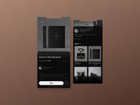 Antique Store App ux ui design ui  ux uidesign uiux design app design ui figma app