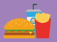 "Burger ""menu"""