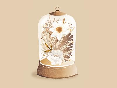 Boha digital flower fleurs botanic plant flowers draw instagram illustrator illustration