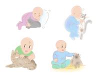 Baby  & Kitties