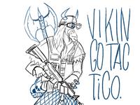 Vikingo Táctico Sketch