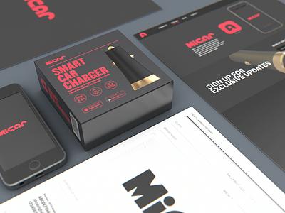 Micar - Branding, Packaging, Product Design, UiUx colorcubic illustrator photoshop adobe cinema 4d 3d modeling uiux design logo product design package design branding micar