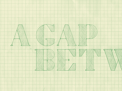 A Gap Between logo typeface a gap between logo typography typeface illustration branding colorcubic nueva forma italo disco chill-wave