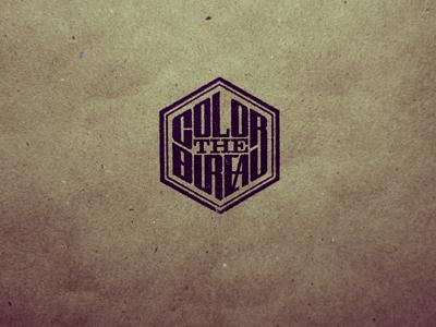 The Color Bureau the color bureau colorcubic stamp logo typography branding online shop apparel prints posters