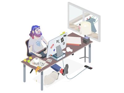 Workspace - Rocketboy Inspired
