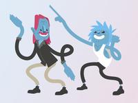 Funny Dancers 1
