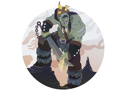 Dungeons & Dragons - Half Orc
