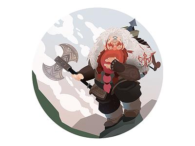 Dungeons & Dragons - Dwarf savage dwarf character dragons dungeons dungeons and dragons dd