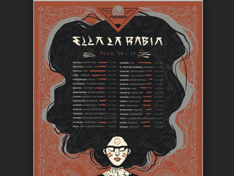ELR - Tour Poster