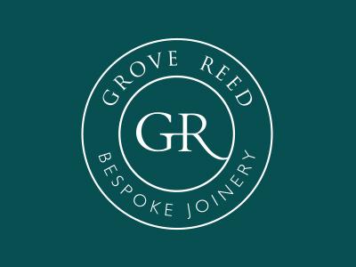 Grove Reed Joinery branding logo logo design joinery logo