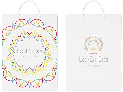 La Di Da Jewellery identity brand jewellery