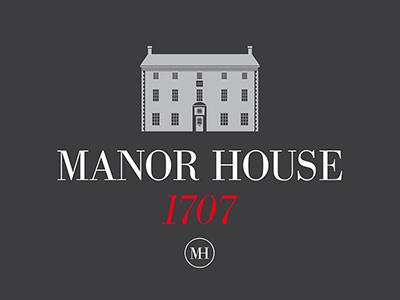 Manor House 1707 events centre logo business centre logo