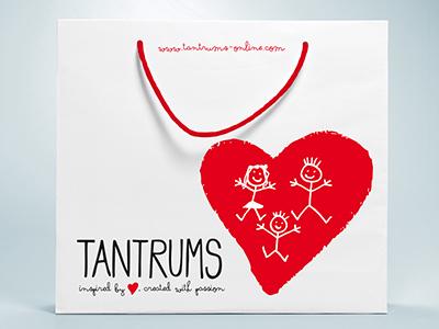 Tantrums Children's Boutique childrens clothes retailer logo