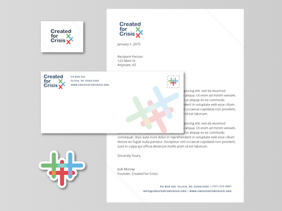 Stationary Mockup for Created for Crisis minimal minimal design stitching brand strategy sticker business card letterhead envelope brand design brand identity branding brand print design mockup stationary