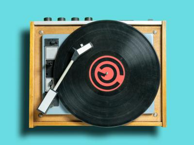 Logo Design Mockup for Artist Chris Gooding progressive house electronica edm logos logotype logodesign mockup design music record label record vinyl electronic music brand brand identity branding design mockup brand design logo design logo branding
