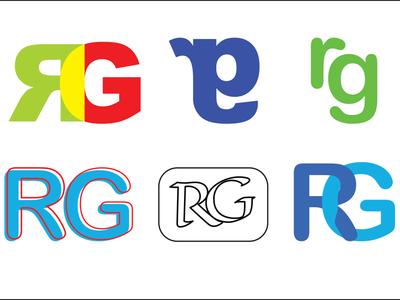 Logo concepts for a writer content creator designer marketing branding writer author logo