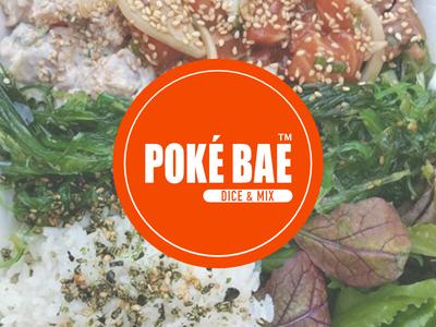 Design Test for Pokebar Interview trendy healthy fast food japanese hawaiian poke bar parody brand design branding playful graphic design poke bowl food design poke
