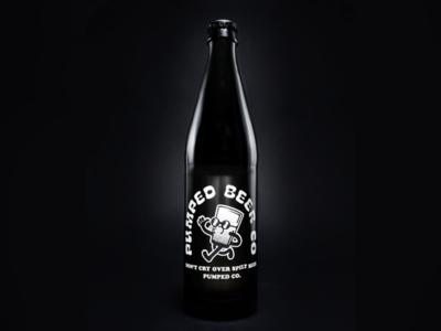Pumped Kickstarter Beer Bottle