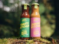 Jamaican Ketchup - Soul Shack Street Food Branding