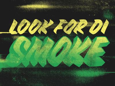 Look for di smoke - Soul Shack Street Food Branding