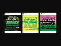 Event promotion - Soul Shack Street Food Branding