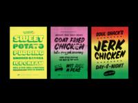 Street Food Posters
