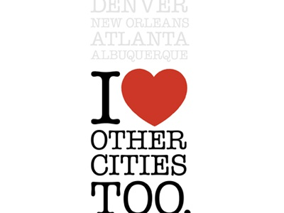 I ♥ Other Cities Too