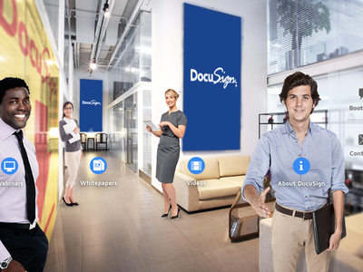 Virtual Event Experience - DocuSign