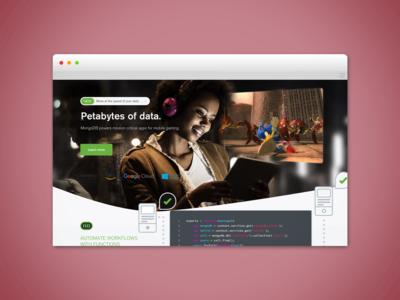 MongoDB Homepage Experiments