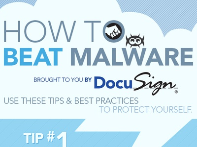 Infographic: How To Beat Malware