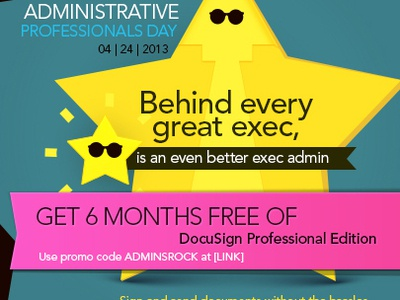 Administrative Professionals Day - Social Media Campaign social media design creative direction branding