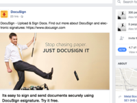 Just DocuSign It - Social Campaign