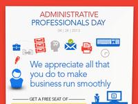 Admin Day - Social Campaign Concept