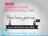 Administrative Professionals Day - Social Media Campaign Concept