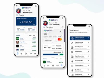 Agibank app redesign