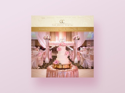 Pink Luxury Weddings WordPress Design