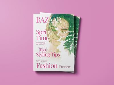 Magazine concept art