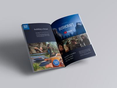 Bushcraft Heroes Magazine Spread