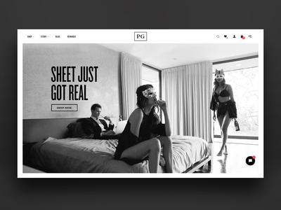 Pillow Guy Website Design