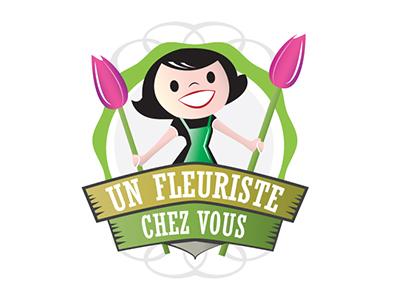 Fleuriste logo