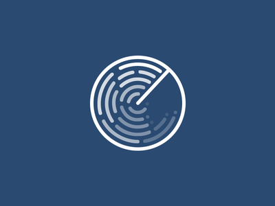 Radar Icon illustrator icon vector design identity logo illustration