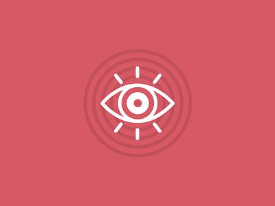 Eye Icon w/ Grid icon vector eye design illustration grid identity