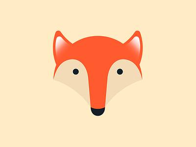 Fox logo vector illustrator logo fox