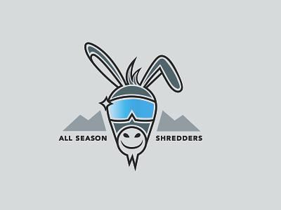 Snowboard Shop Logo minimalist branding graphic design logo