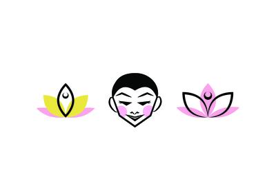 Yoga Studio Logo Ideas