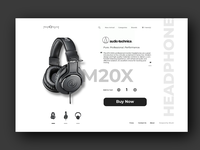 Headphone Online Store Page