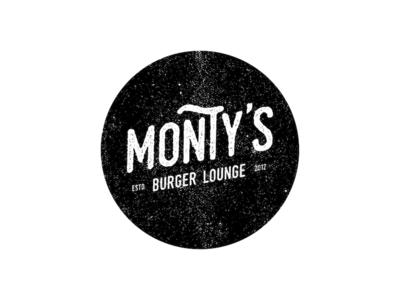 Montys Burger Lounge Logo